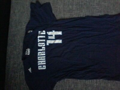 Adidas T-Shirt des NBA Teams Charlotte Bobcats in der Gr. M