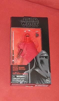 Star Wars The Black Series Imperial Royal Guard 6 inch  HASBRO OVP