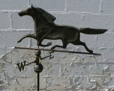 Antique Copper Horse Weathervane 52 Inches Tall!