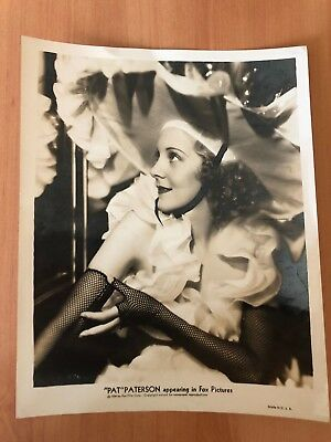 Original 1950S Pat Paterson Glamour Stunning Exquisite Photo Photograph