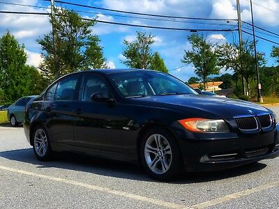 2008 BMW 3-Series 328i Black Beamer with smooth engine and transmission