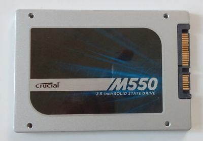 Crucial M550 SSD, 1TB, 2,5 Zoll, Sata III, sehr schnell, Top Zustand