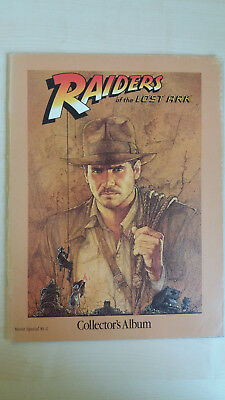 RAIDERS OF THE LOST ARK collectors album movie special 81-2 sehr gut