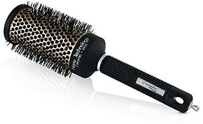 Hair Brush Nano Thermal Ceramic Ionic Round Barrel Comb Styling Brush, 2 Inch