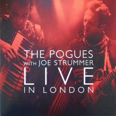 The Pogues With Joe Strummer - Live In London - 2x Red Vinyl - RSD 2014