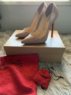 brand new ee709 aafdd CHRISTIAN LOUBOUTIN PIGALLE spikes 120 mm, black leather ...