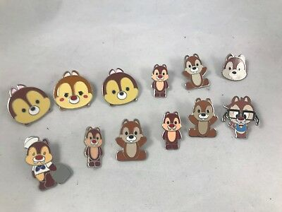 Lot of 12 Disney Chip and Dale Pins
