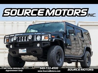 2003 Hummer H2 4dr Lux Series 2003 Hummer H2, Luxury, 4x4, Leather, California Car, Blacked out, Brush Guard