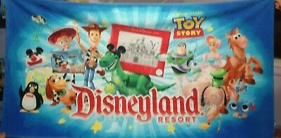 disneyland resort pool or beach towel pixar toy story