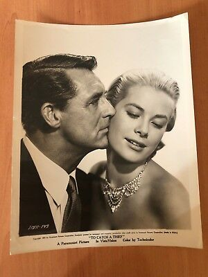 RARE ORIG GLAMOUR GRACE KELLY TO CATCH A THIEF EXQUISITE Stunning PHOTO 1954