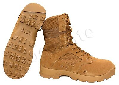 New Mens Lightweight Army Combat Tactical Military Police Non Safety Work Boots