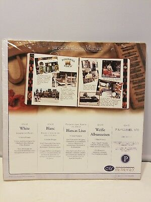 """Creative Memories 12 x 12/"""" White Pages Old Style 15 sheets 30 pagesNEW old stoc"""