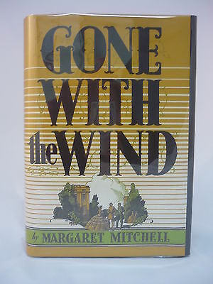 1936 First Edition 2nd Printing Margaret Mitchell Gone With the Wind