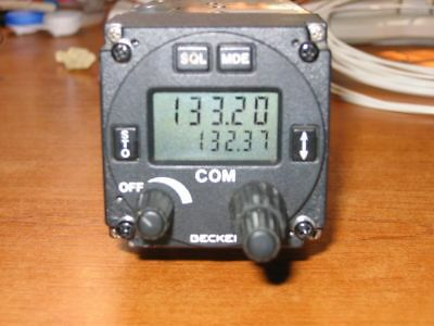 Becker AR4201 VHF COM Radio in good working condition, high S/N