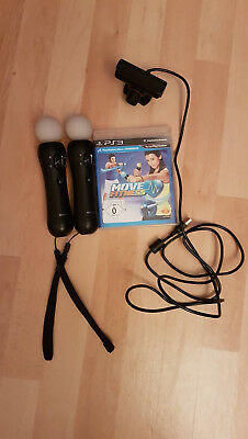 Move Fitness (Sony PlayStation 3, 2011) + Kamera und Controller