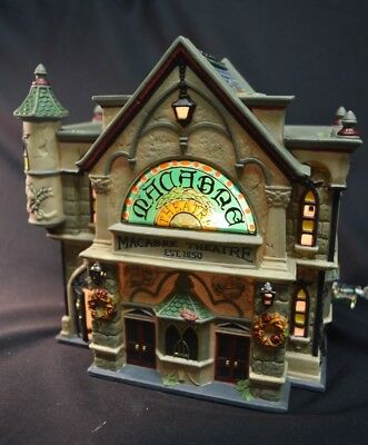 """Department 56 - Dickens Village Series  All Hallows Eve """"Theatre Of The Macabre"""""""