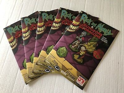 Rick And Morty Vs Dungeons And Dragons  1 Sneak Peak Variant NM