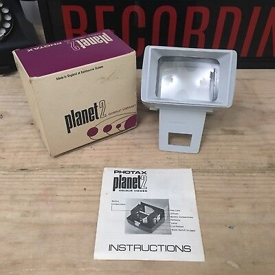 Vintage Planet 2 Colour Viewer by Photax - Boxed