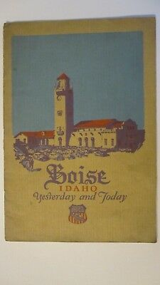 Vintage 1925  Union Pacific Railroad Boise Idaho Booklet  Brochure