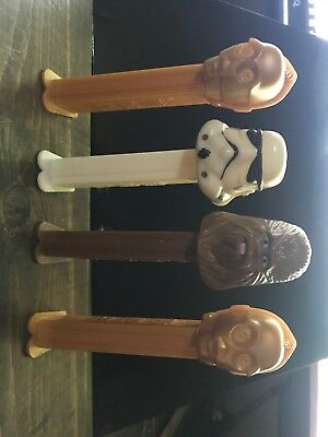 Star Wars Pez set Of 4