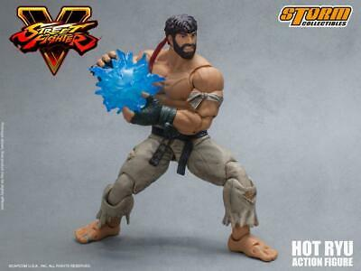 Storm Collectibles Street Fighter Hot Ryu SDCC 2017 Exclusive Figure White Pants