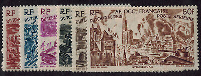 French West Africa #C5-10 M/H, SCV. $16.05