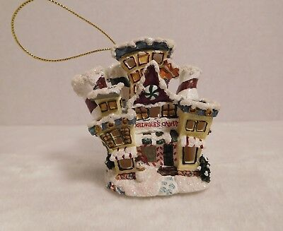 Boyds Bearly Built Kringle's Villages Candy Store Ornament New Style #19706