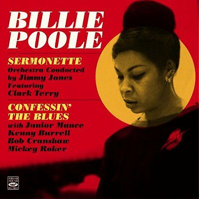 Billie Poole: Sermonette & Confessin' The Blues (2 Lps auf 1 CD) + Bonus Titel