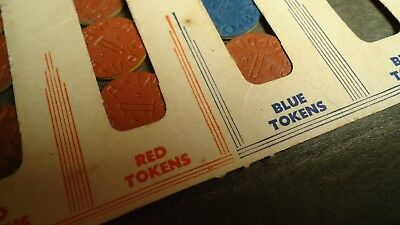 World War II Red Point, Blue Point OPA Ration Tokens, Coupons & Holder Wallets