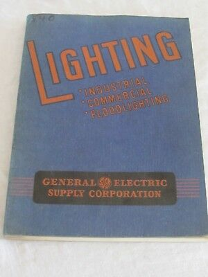 Vintage 1941 General Electric Lighting Catalog