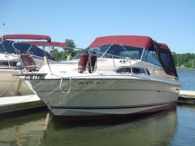 1985 Sea Ray 270 Sundancer~TWIN 190HP 4 Cylinders Mercury~Closed Cooling~