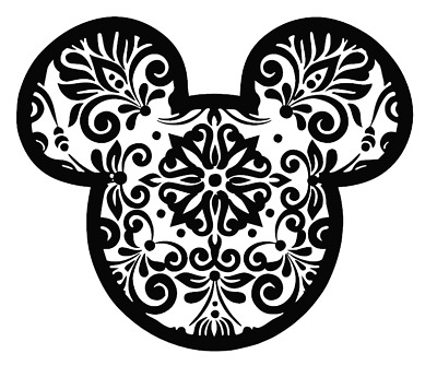 15+ Mandala Mickey Svg – SVG,PNG,DXF,EPS include