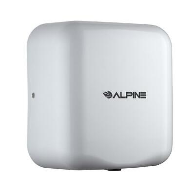 Alpine High Speed Commercial 220V Automatic Hand Dryer in White