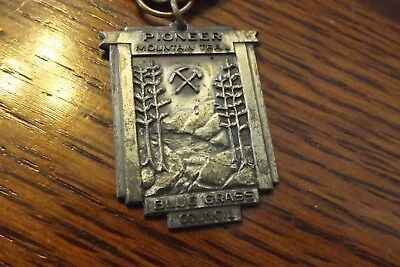 Boy Scout Medal Pioneer Mountain Trail Blue Grass Council