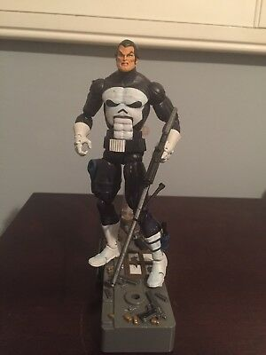 "Toybiz Marvel Legends Face Off Punisher Action Figure 6"" Loose Complete"
