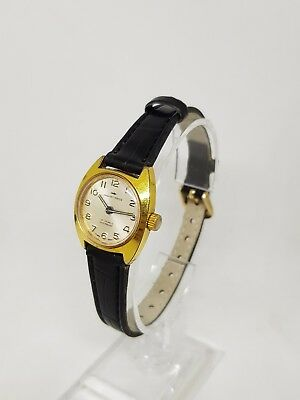 Jaquet Droz Vintage Ladies Wristwatch Swiss Made Untested  LEATHER Strap JD6009