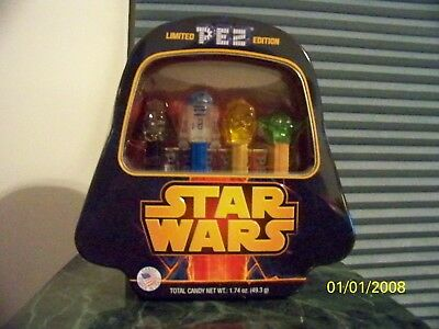 NEW Star Wars Pez Dispenser Limited Edition Darth Vader Tin