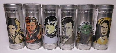 2005 Star Wars Saga Watches Complete Set of 6 UNOPENED Burger King Sealed Tins