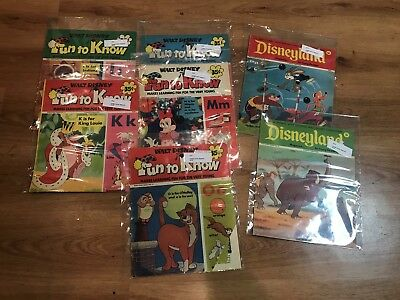 Vintage Disneyland Magazines and Getting to Know Disney Magazine 7 Total