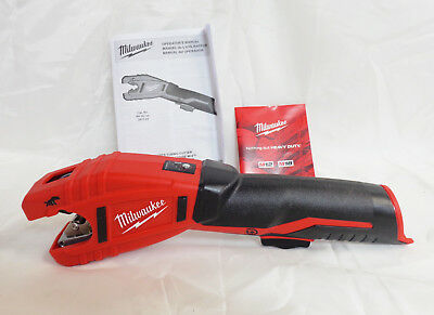 Milwaukee 2471-20 M12 12V Cordless Copper Tubing Cutter (Bare Tool)