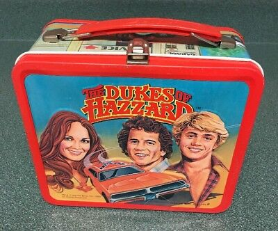 The Dukes of Hazzard metal lunch box by Aladdin, Vintage 1980
