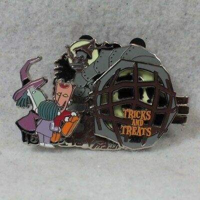 Disney DLR Trick and Treats 2015 Lock Shock Barrel Oogie Boogie LE Pin 112350