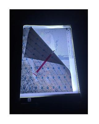 A4 LED Light Tablet Board Pad for DIY 5D Diamond Painting for Adults by Number