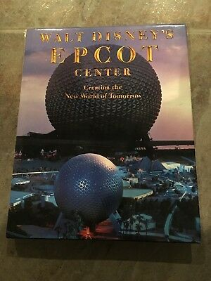 Walt Disney's Epcot Center New World Of Tomorrow 1982 Hardback Book