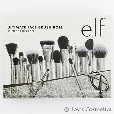 "1 ELF Ultimate Face Brush Roll & 19 Piece Brush Set ""B85072-1"" *Joy's cosmetics*"
