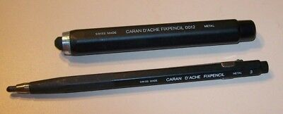 Lot of 2 Vintage Caran d'Ache Fixpencils (0012 and 3) Swiss Made