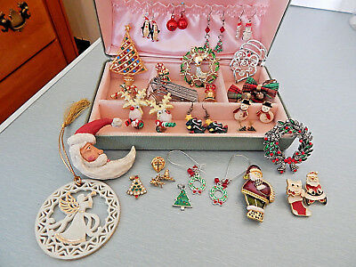 Vintage lot of jewelry ALL wear/resale Holiday classics lot 2