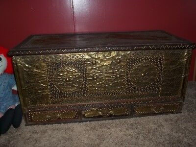 Beautiful Antique Trunk (Omani)
