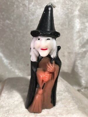 Vintage Gurley Halloween Witch Candle