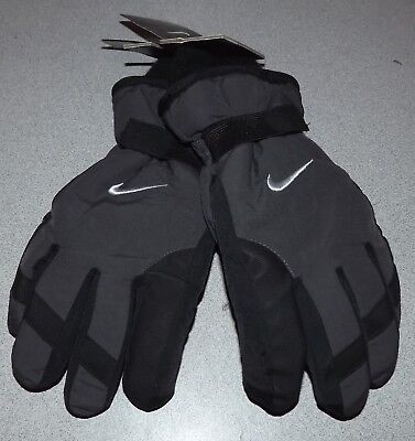 NWT Nike Boys Youth One Size 8-20 Winter Ski Gloves MSRP $28.00 Thinsulate